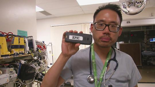 Dr. Jang explains the challenges of being a resident.