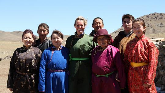 Kate Humble: Living with Nomads - E3 - Mongolia