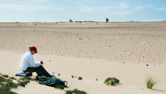 Landscape as Muse - S5E6 - Athabasca Sand Dunes With Sandra Meigs