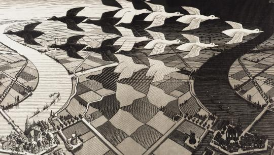 M.C. Escher: Journey to Infinity