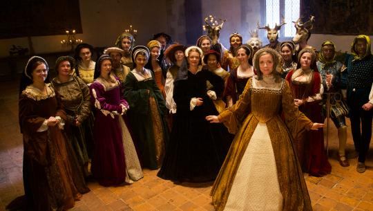Merry Tudor Christmas with Lucy Worsley; A