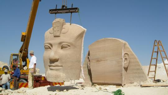 Moving Ancient Egypt