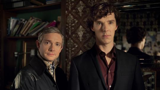 Sherlock - S3E1 - The Empty Hearse