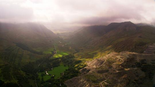 The World From Above: British Isles  - E5 - Wales – Ruthin to MT Snowden