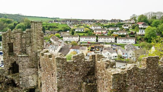 The World From Above: British Isles  - E17 - Wales – Laugharne to the Severn Bridgess