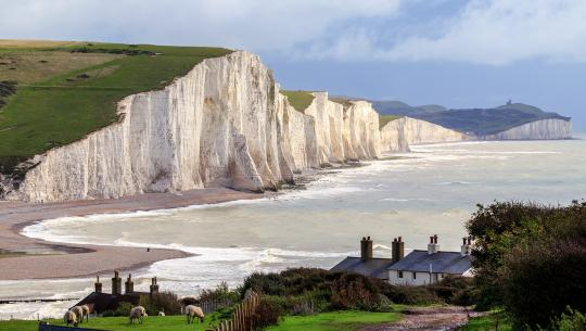 The World From Above: British Isles  - E25 - England - Seven Sisters to Canterbury Cathedral