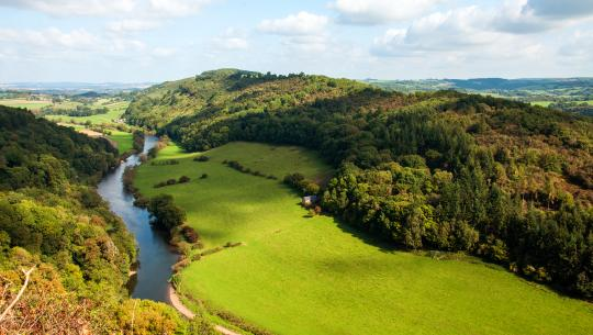 The World From Above: British Isles  - E26 - England - Symonds Yat to Dee Estuary