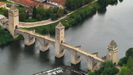 The World From Above: France  - E5 - Oradour-sur-Glane to Puilarens Castle