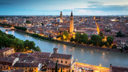 The World From Above: Italy  - E1 - Verona to Venice and Vicenza