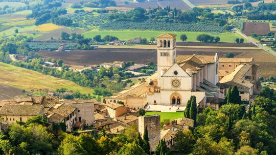 The World From Above: Italy  - E8 - Assisi to Florence