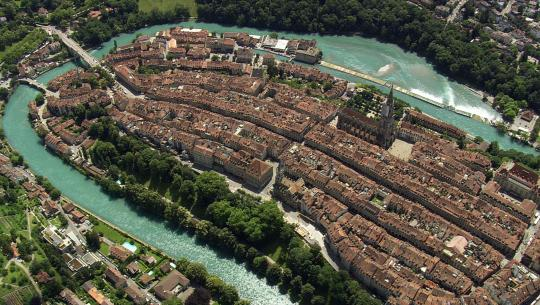 The World From Above: Switzerland  - E3 - Rheinau to Creux du Van