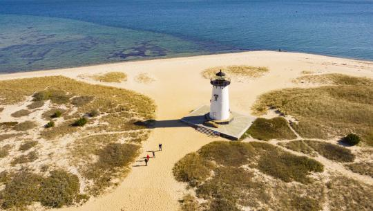 The World From Above: United States  - E2 - Massachusetts - New Bedford to Provincetown