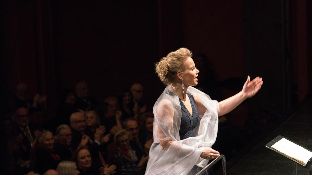 Elina Garanca and Sir Simon Rattle in Baden-Baden