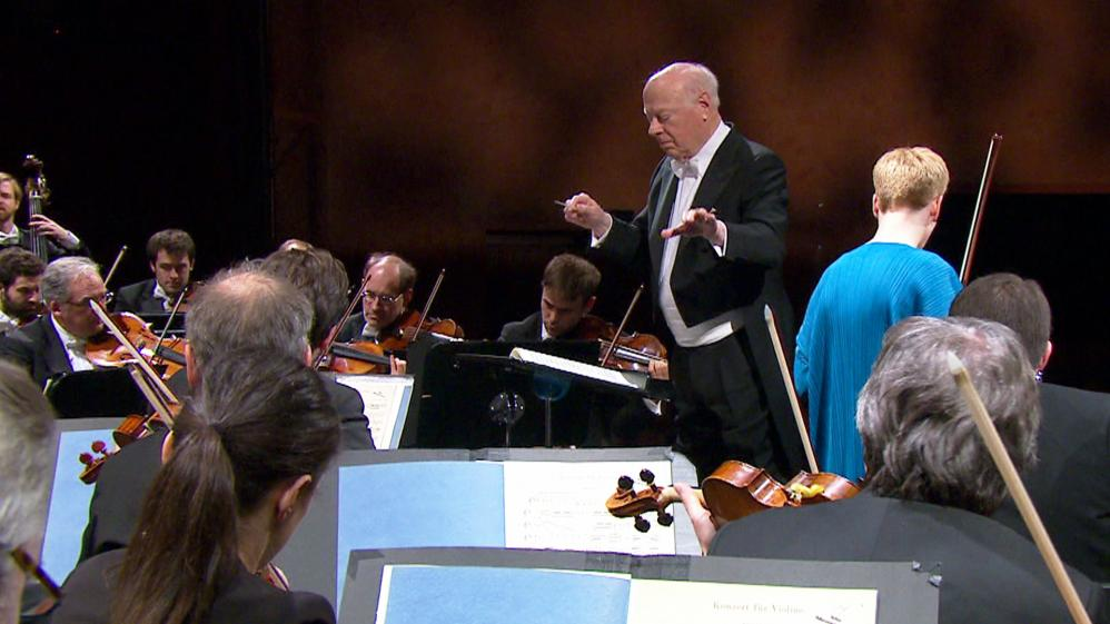Isabelle Faust and Bernard Haitink in Baden-Baden