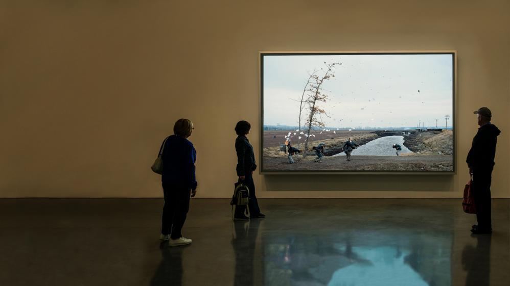 Jeff Wall: In Order to Make a Picture