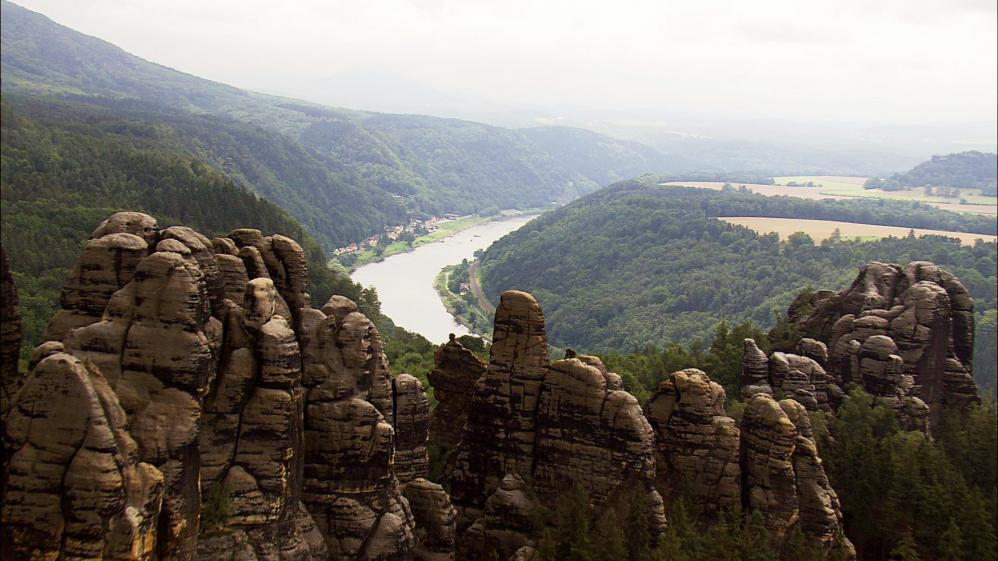The World From Above: Germany  - E3 - Plauen to Konigstein Castle