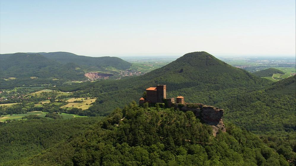 The World From Above: Germany  - E5 - Grosser Inselsberg to Trifels Castle