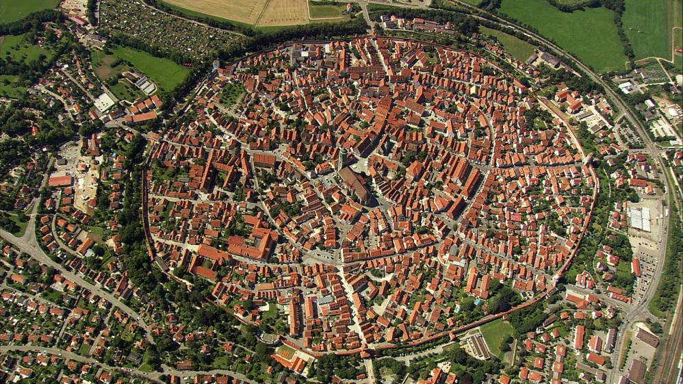 The World From Above: Germany  - E6 - Palatinate Forest to Bamberg