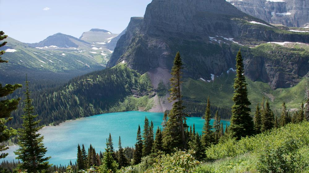 The World From Above: United States  - E22 - Montana – Glacier National Park to the Chinese Wall