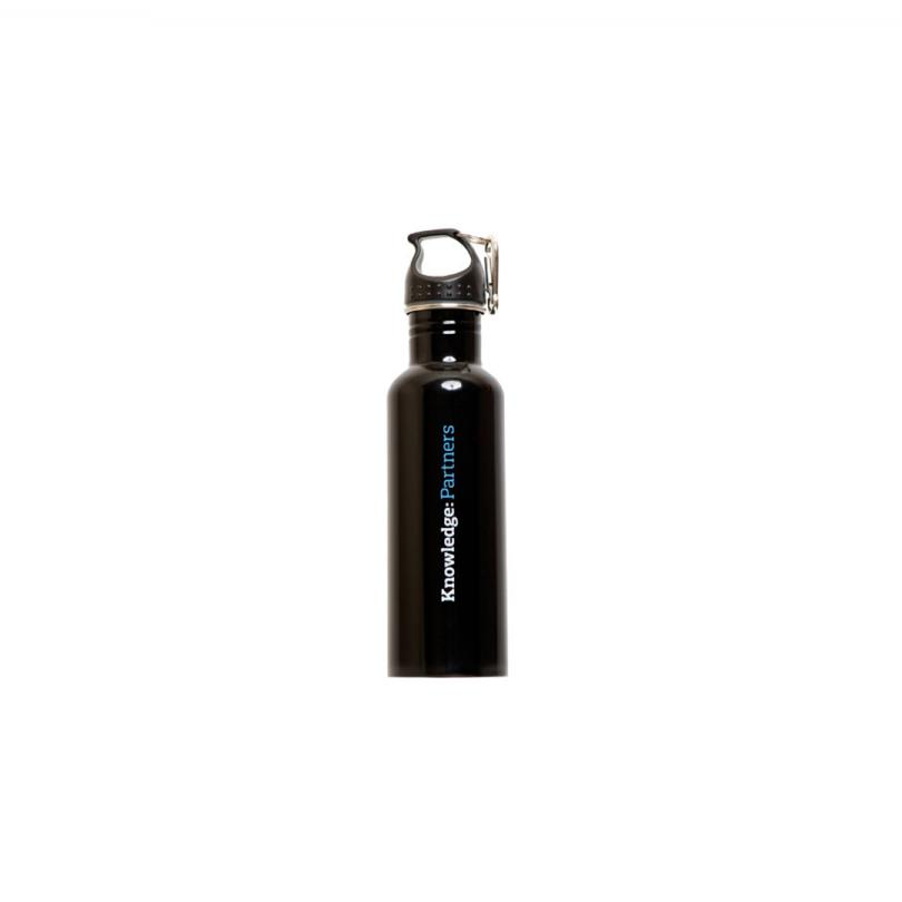 Knowledge: Partners Stainless Steel Water Bottle