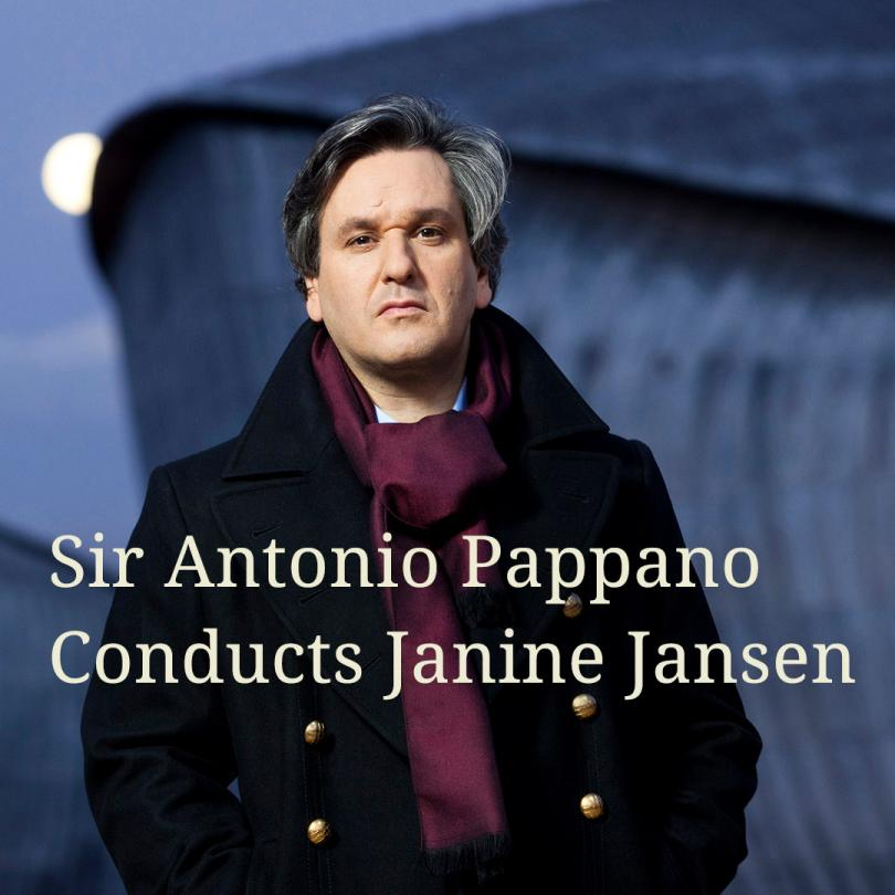 Sir Antonio Pappano Conducts Janine Jansen