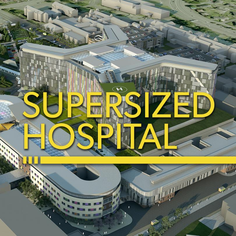 Supersized Hospital
